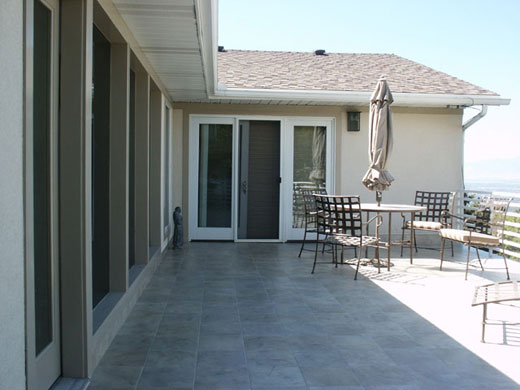 Over large slab patio, now they can use both and relax.